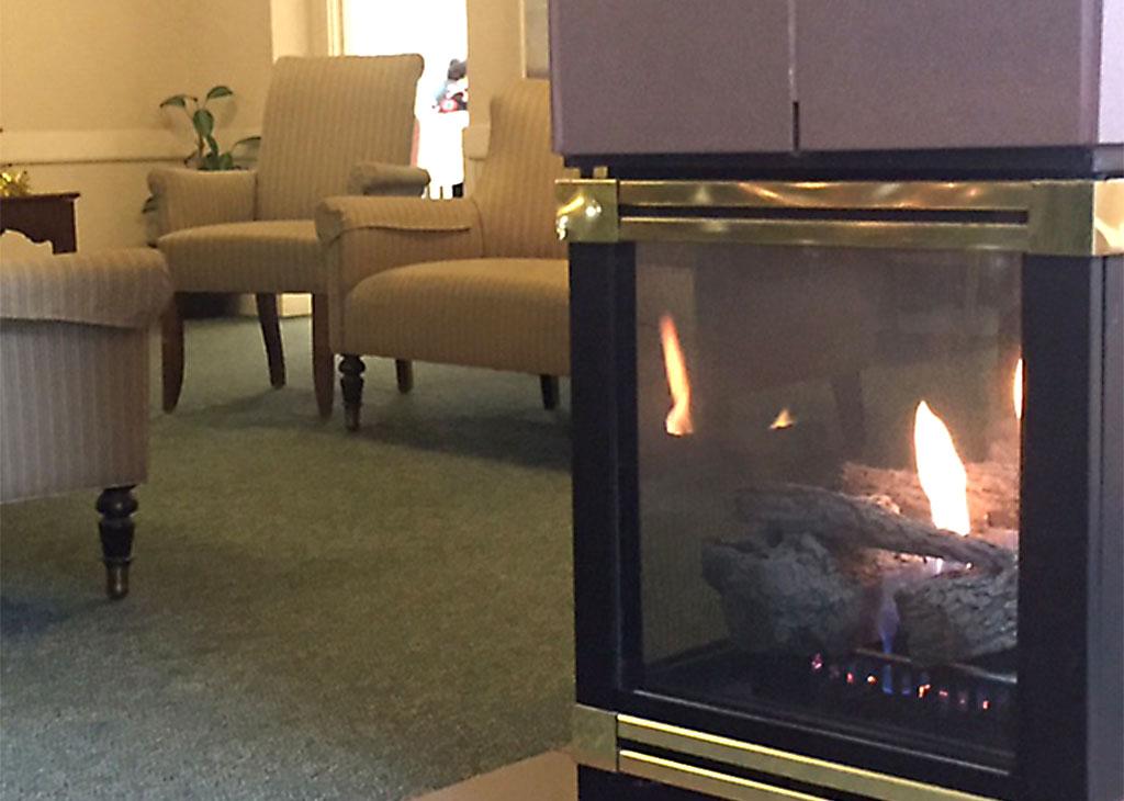 Greensburg Fireplace