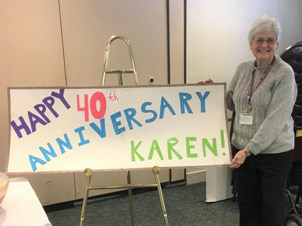 Karen's 40th year anniversary