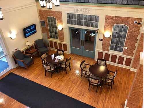 North Huntingdon lobby