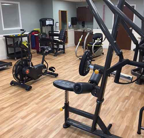 greensburg exercise room