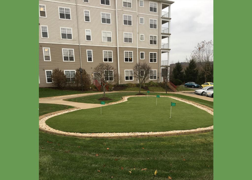 Murrysville putting green