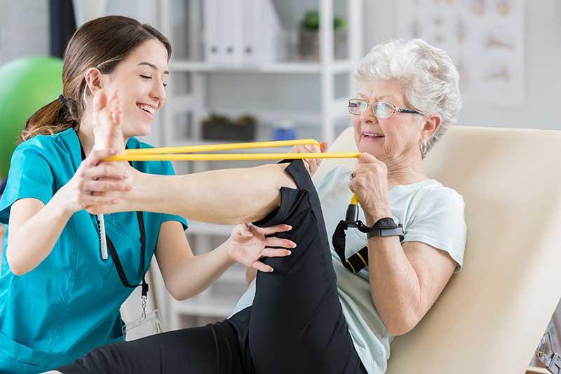 rehab leg therapy
