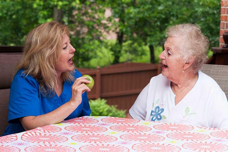 rehab stroke speech therapy