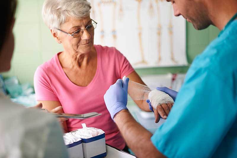 rehab wound care