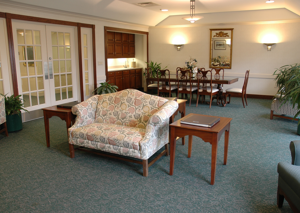 Greensburg seating area
