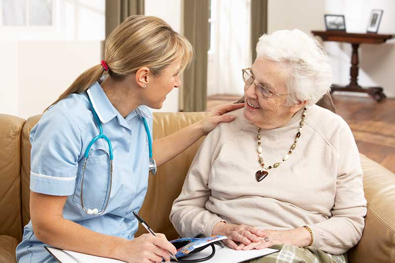 supportive care checkup visit