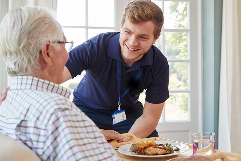supportive care meal delivery