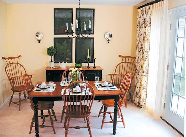 villa homes dining room
