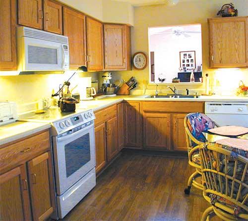 villa homes kitchen